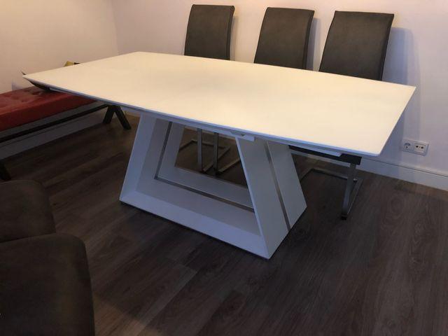 Mesa de comedor diseño italiano de segunda mano por 499 € en ...