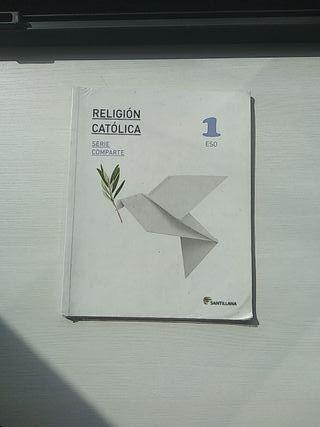 Libro de Religión 1°ESO Santillana