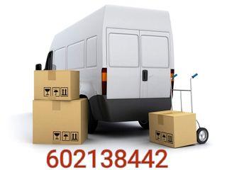 transporte, mudanzas, alquiler con chófer, montaje