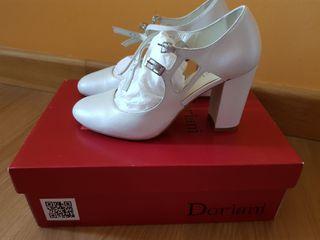 zapato novia Doriani