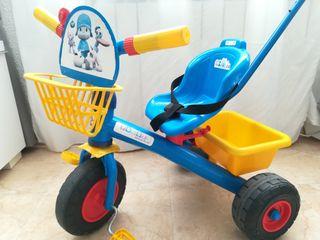 Triciclo Pocoyó niña-niño de 18m a 4 años (aprox.)