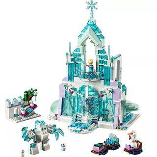 Castillo Elsa Frozen compatible Lego