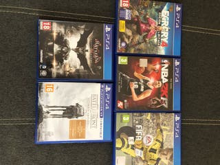 Venta de juegos PS4