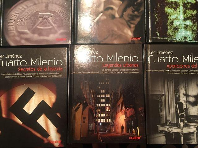 Libros con Dvd de cuarto milenio de segunda mano en Madrid en WALLAPOP