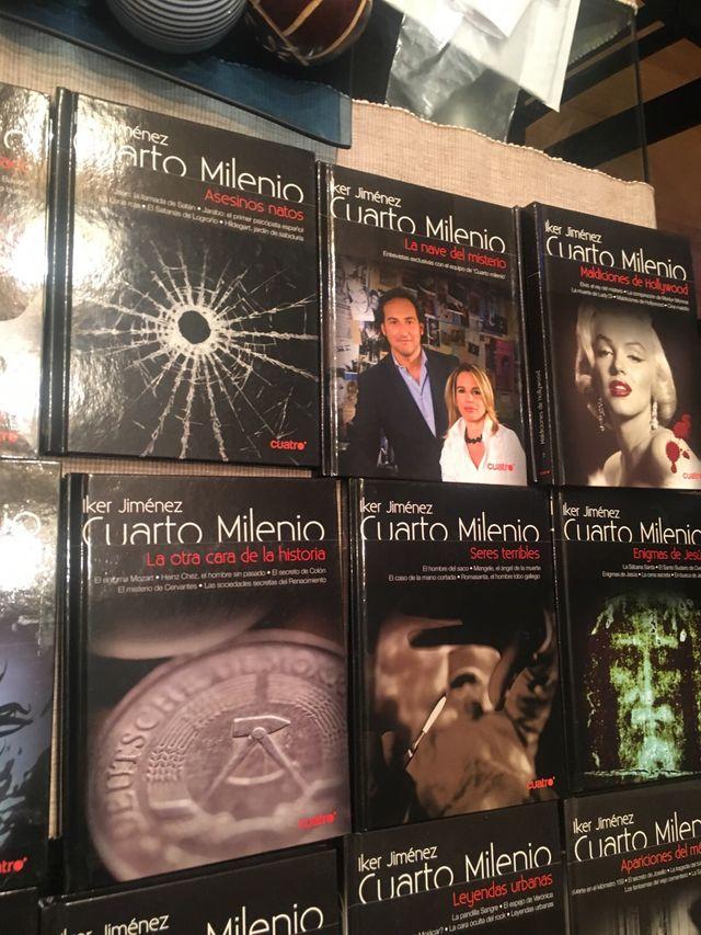 Libros con Dvd de cuarto milenio de segunda mano por 10 € en Madrid ...