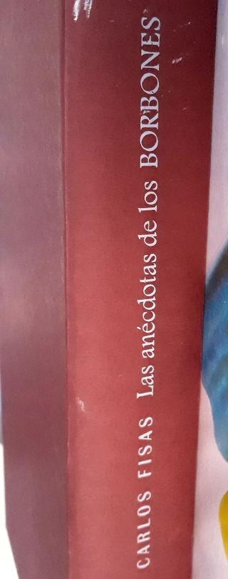 Libro Las Anécdotas de los Borbones