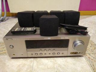 Yamaha rxv 361 Titanio Amplificador 5.1 DTS
