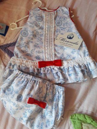 vestidos ropa de bebe