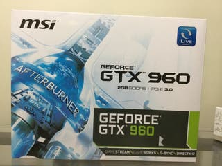 Tarjeta Gráfica MSI GTX 960