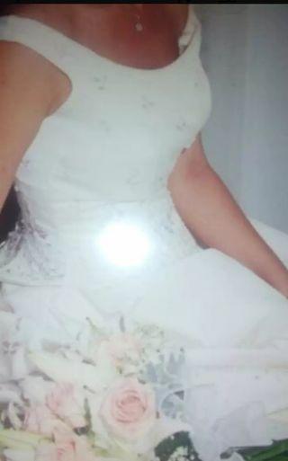 vestido de novia largos de segunda mano en alicante en wallapop