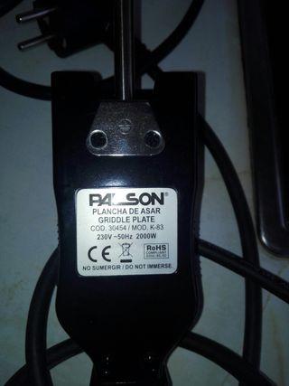 Plancha 2000w houston PALSON 30454