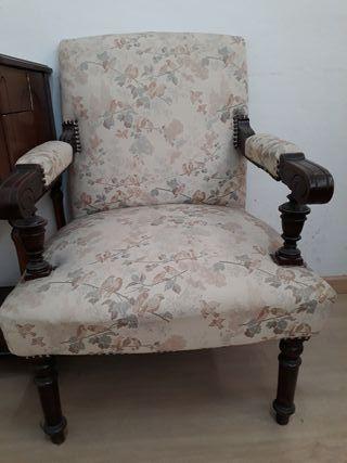 sillones con comoda