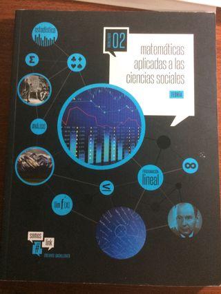 Libro 2 bachillerato de matemáticas