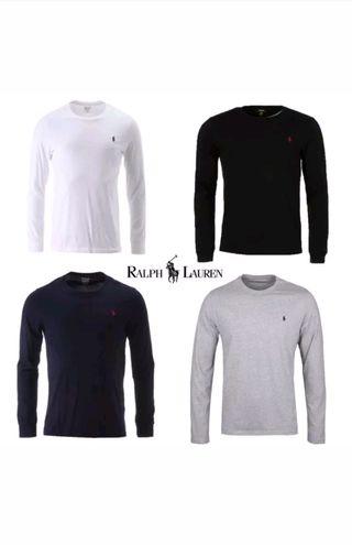 Ralph Lauren Mens Polo Long Sleeve