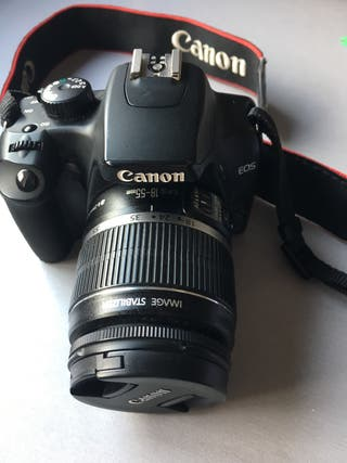 Cámara Canon IOS 1000D
