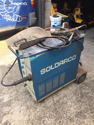Máquina de soldar industrial