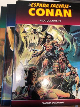 Pack la Espada Salvaje Conan. Comic.