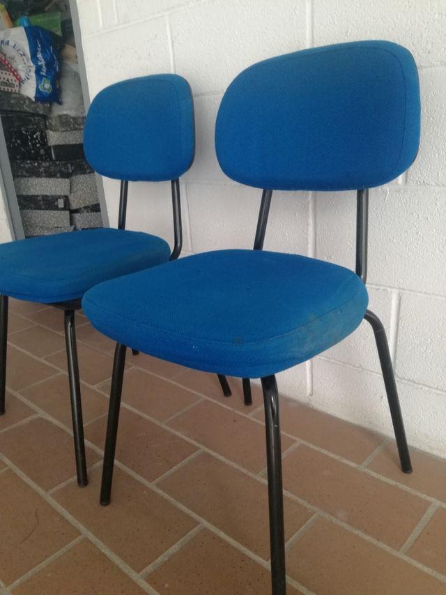 2 Sillas oficina , precio por unidad de segunda mano por 10 € en ...