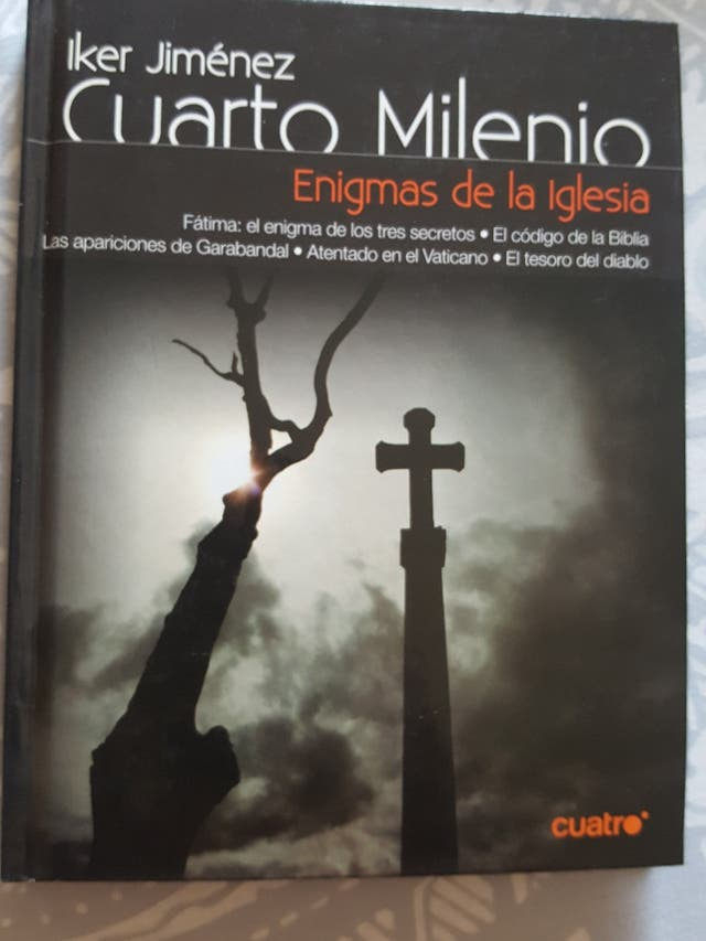 DVD LIBRO Cuarto Milenio Enigmas de la Iglesia de segunda mano por 2 ...