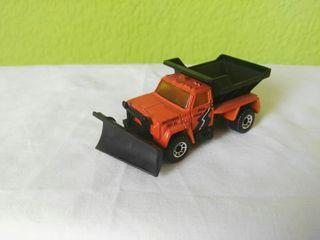 camión quitanieves Matchbox