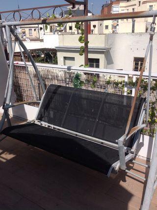 Balancín de exterior para terraza o jardín