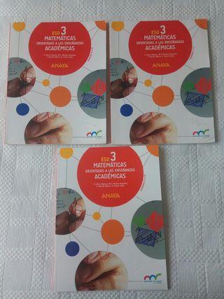 Libro texto matemáticas 3 ESO