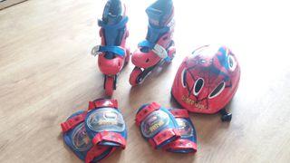 Patines de aprendizaje Spider-Man