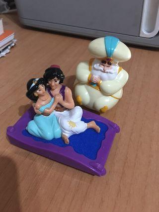 Figuras de Aladdin de los 90'. Hago envios