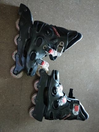 patines de línea número 36