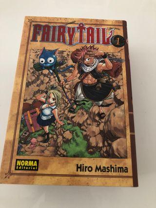 Fairy Tail 1-4. Comic Manga. Hiro Mashima