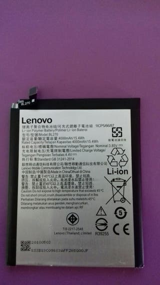 Bateria móvil Lenovo bl 270