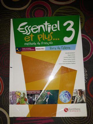 libro de francés 3 de ESO
