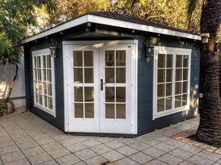 Casa prefabricada, casa de madera, Victoria C