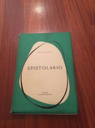 Libro Epistolario del Doctor Areilza