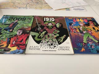 1910, 1969, 2010. Comic. Alan Moore, Kevin O'neill