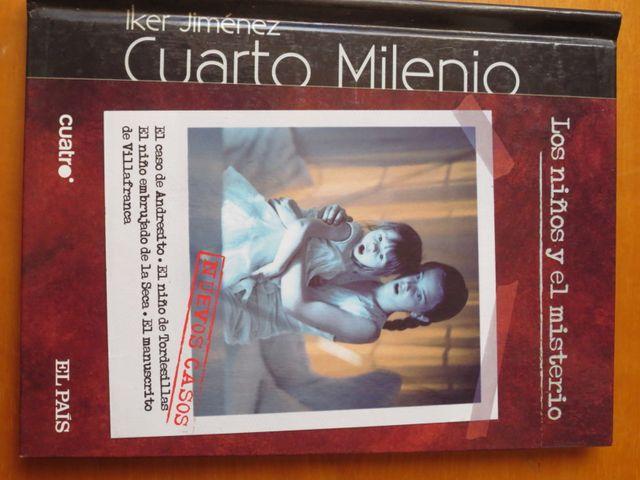 Cuarto Milenio - Niños (DVD + Libro) de segunda mano por 1,5 € en ...