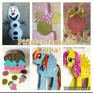 piñatas, cumpleaños , fiesta personalizada
