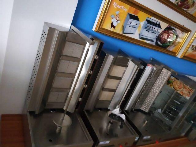 maquina de kebab 3 4 5 fuegos