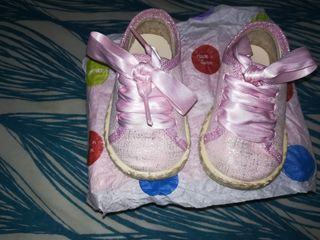 zapatillas niña talla 19