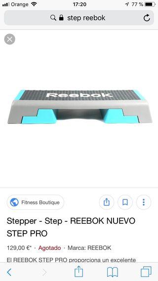 Step reebok nuevo sin uso