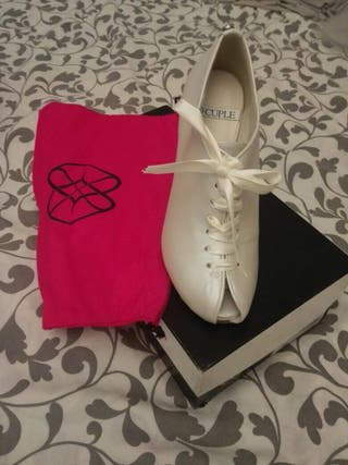 Zapatos novia ''Cuplé'' a estrenar