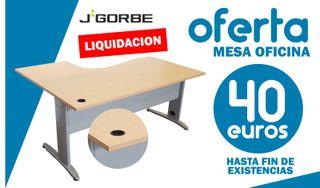 ¡¡¡GRAN LIQUIDACIÓN EN MESAS DE OFICINA!!!