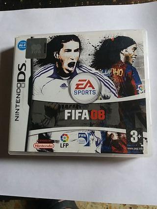 juego ds fifa 08