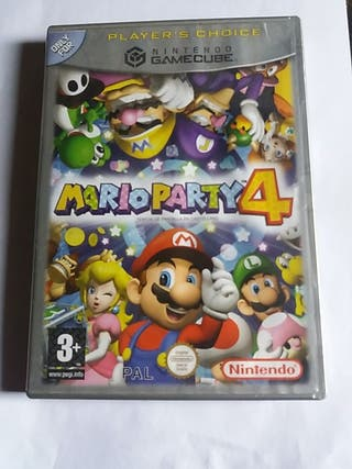 juego mario party 4 para gamecube