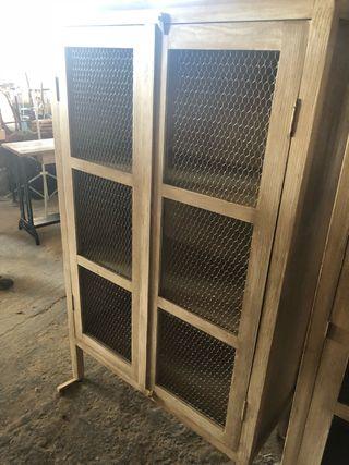 Armario alacena 2 puertas. Vitrina aparador nuevo