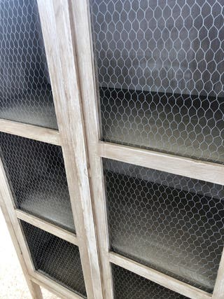 Mueble aparador Alacena Vitrina 2 puertas a medida