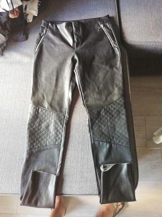 Cuero Segunda Pantalón Zara Mano Por 10 De qd8P8C 0aed57e2fb1