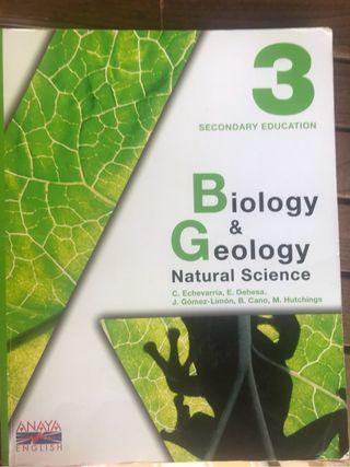 Biology & Geology. Anaya