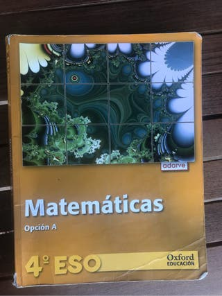 Matematica 4 Eso Oxford educat