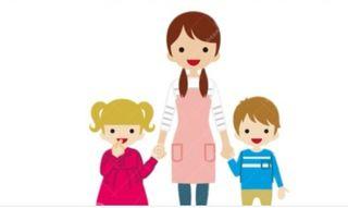 Cuidadora de niños y abuelos